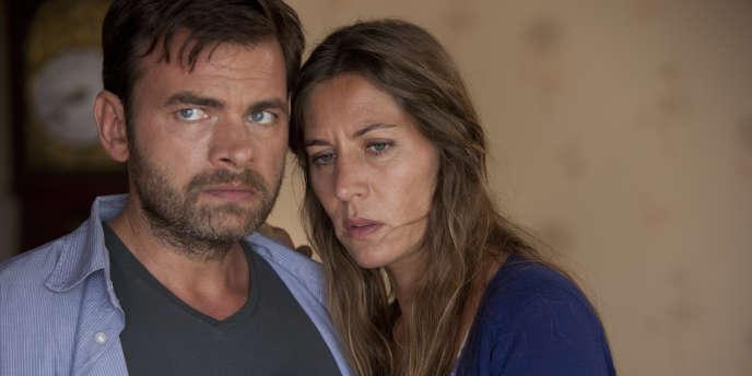 Clovic Cornillac et Mathilde Seigner dans le film français de Christophe Ruggia,