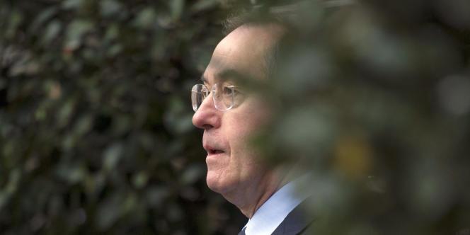 Le ministre de l'intérieur, Claude Guéant, le 4 janvier 2012 à Paris.