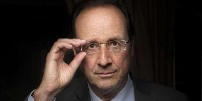 François Hollande, le 3 janvier, à Paris.