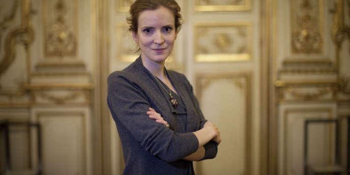 Nathalie Kosciusko-Morizet,  ministre de l'Ecologie, du Developpement durable, des Transports et du Logement  dans son bureau, à Paris, le 3 décembre.