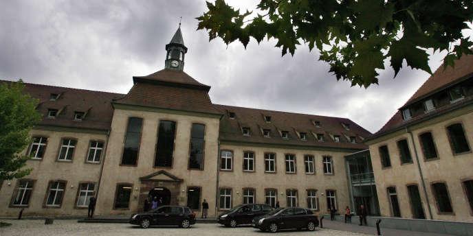 Vue de l'ENA à Strasbourg, le 24 septembre 2005.