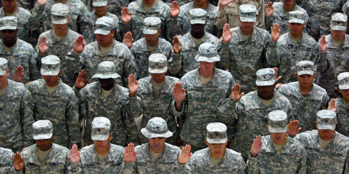 Le nombre de cas de harcèlement dans l'armée américaine aurait baissé en 2014.