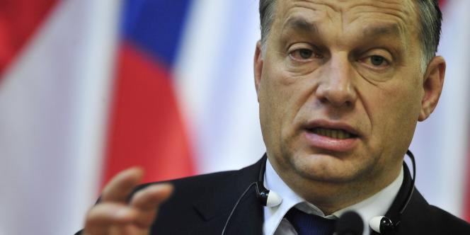 Le premier ministre hongrois, Viktor Orban, le 15 décembre 2011 à Budapest.