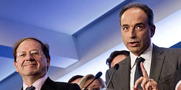 Hervé Novelli et Jean-François Copé.