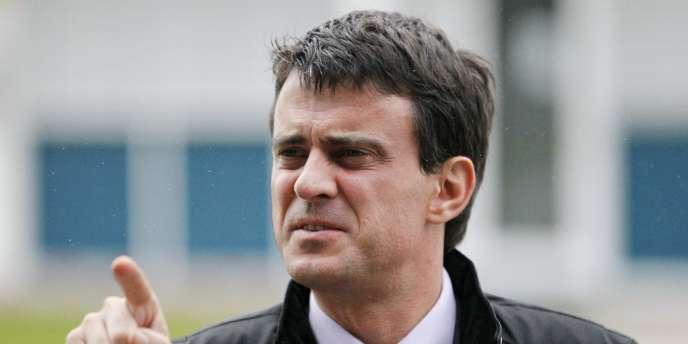 Manuel Valls, le 7 décembre 2011 à Montceau-les-Mines.