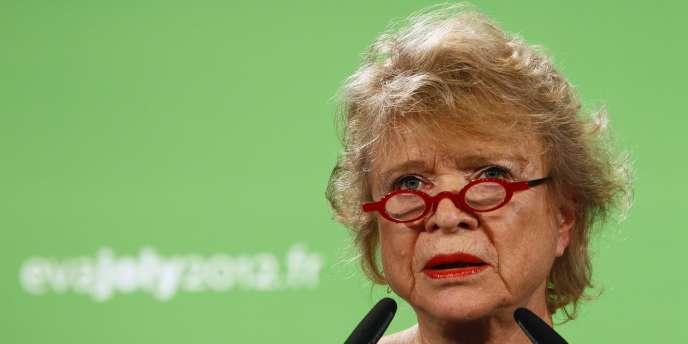 Eva Joly, le 5 janvier 2012, à Paris.