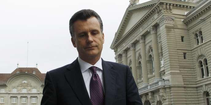 Le président de la banque centrale suisse, Philipp Hildebrand, a annoncé lundi sa démission