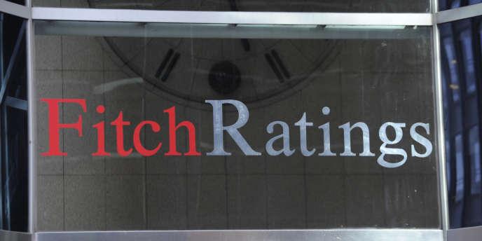 Logo de l'agence de notation Fitch.