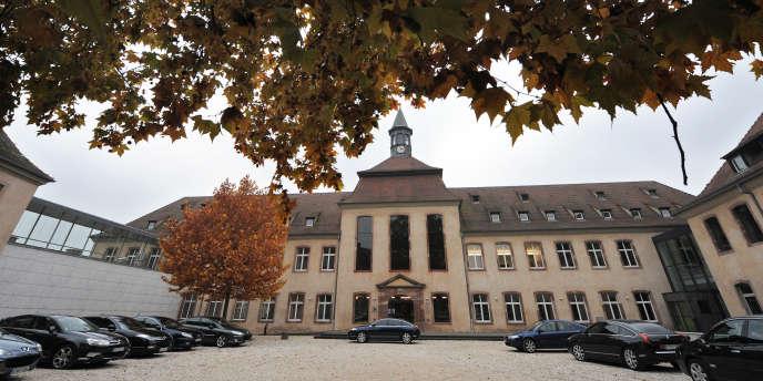 L'école nationale d'administration (ENA), à Strasbourg.