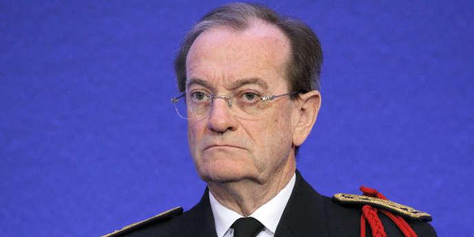 L'ancien préfet de police de Paris, Michel Gaudin en janvier.