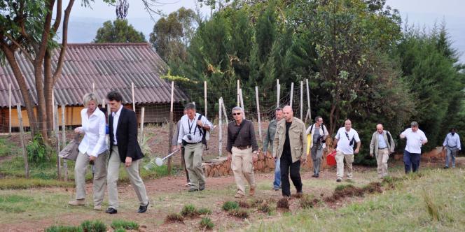 Les juges Marc Trevidic et Nathalie Poux enquêtent sur les circonstances de la mort du président Juvénal Habyarimana, au Rwanda en septembre 2010.