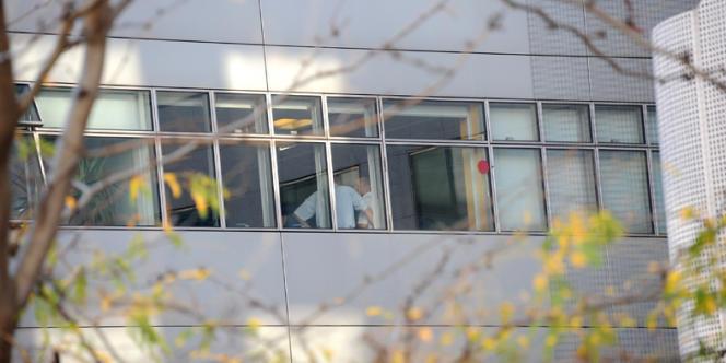 Les bâtiments de l'Inspection générale des services (IGS), à Paris, le 2 octobre 2011.