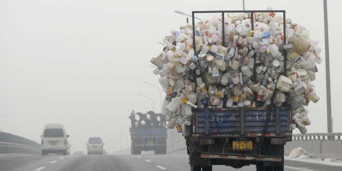 Pollution à Pékin, le 5 décembre.