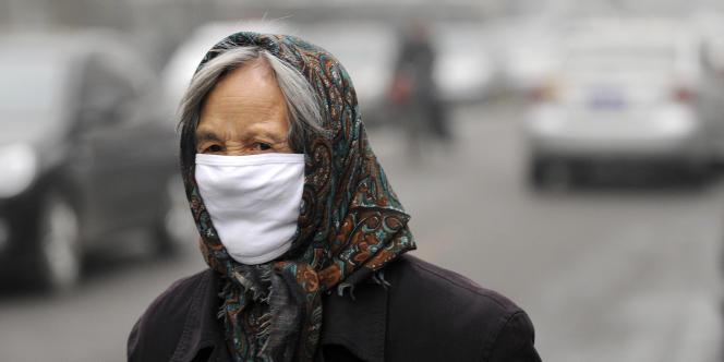 Pollution à Pékin, le 5 décembre