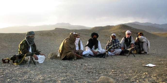 Des talibans, dans la province de Wardak, en 2008.