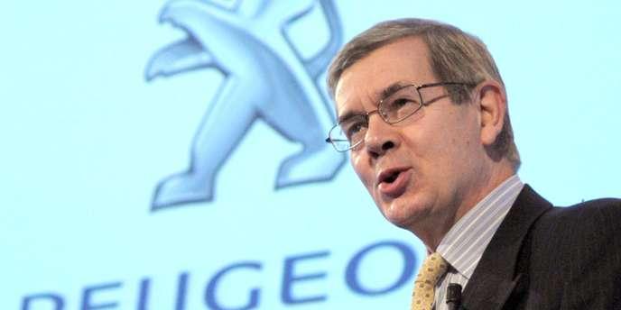 Philippe Varin, président du directoire de PSA Peugeot Citroën.