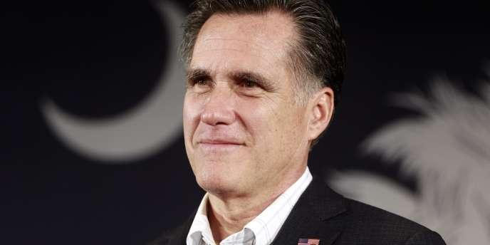 Mitt Romney, le 11 janviers, à Columbia, en Caroline du Sud.