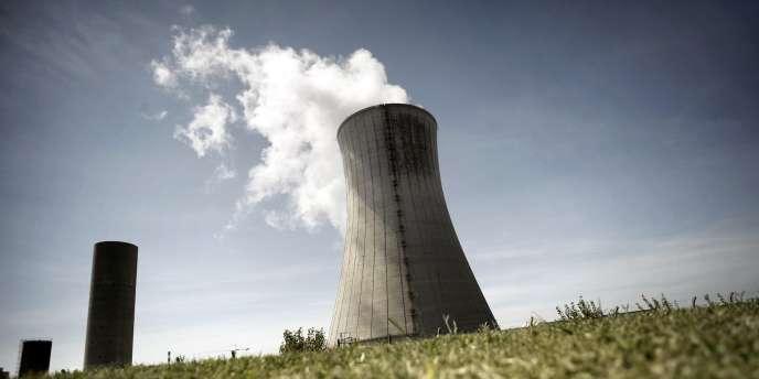 Vue de la centrale nucléaire du Tricastin.
