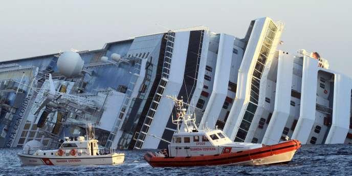 Le paquebot Costa Concordia a fait naufrage dans la nuit du vendredi 13 au samedi 14 janvier.