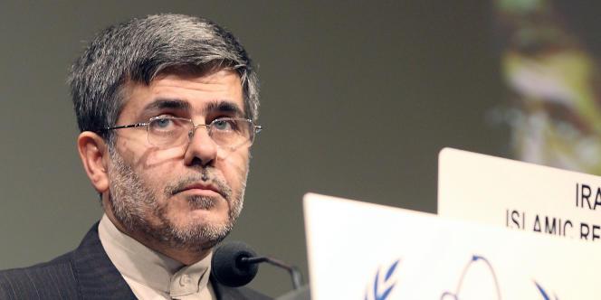 Le chef de l'Organisation iranienne de l'énergie atomique, Fereydoun Abbasi Davani.