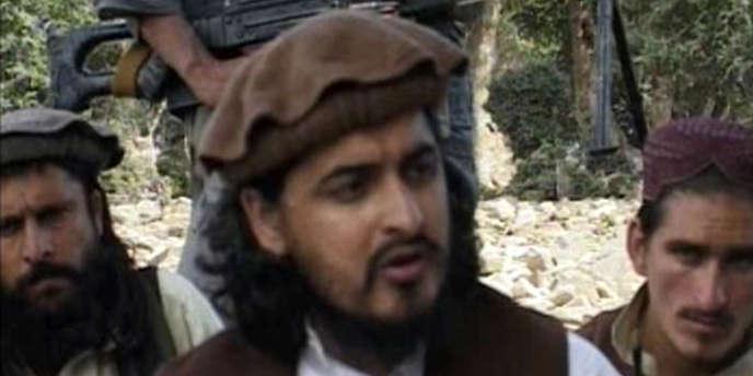 Capture d'écran montrant Hakimullah Mehsud en 2009.