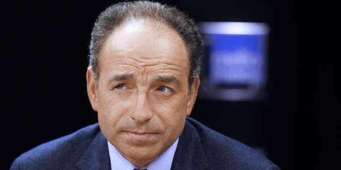 Jean-François Copé, secrétaire général de l'UMP, le 15 janvier 2012 à Paris.