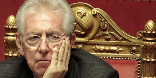 Mario Monti, le président du conseil italien, le 5 décembre 2011 à Rome.