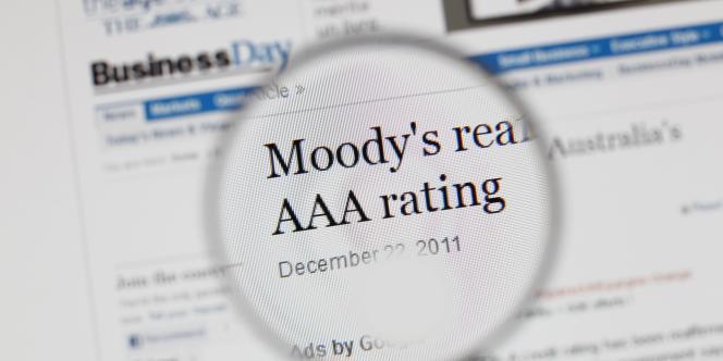 Moody's a annoncé, lundi 16 janvier, qu'elle poursuivait son examen de la perspective