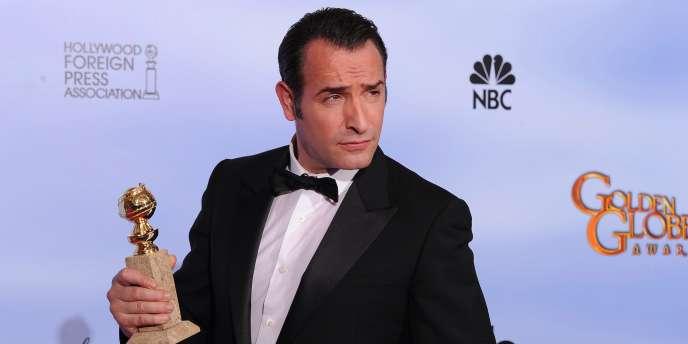 Jean Dujardin, à la 69e cérémonie des Golden Globes, le 15 janvier 2012, à Beverly Hills.