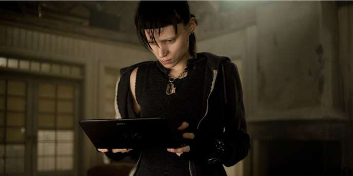 Lisbeth Salander, héroïne de la trilogie Millénium de Stieg Larsson.