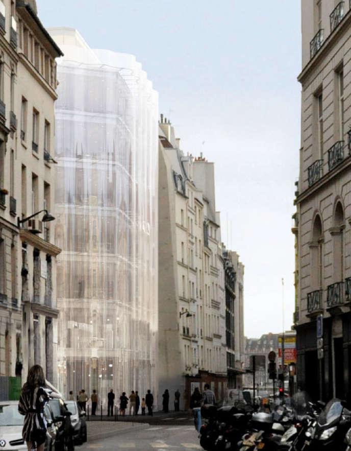 Projet de rénovation de la Samaritaine à Paris.