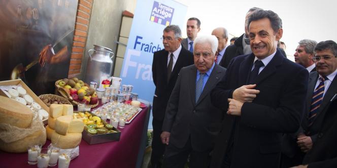 Nicolas Sarkozy présentait ses voeux à la