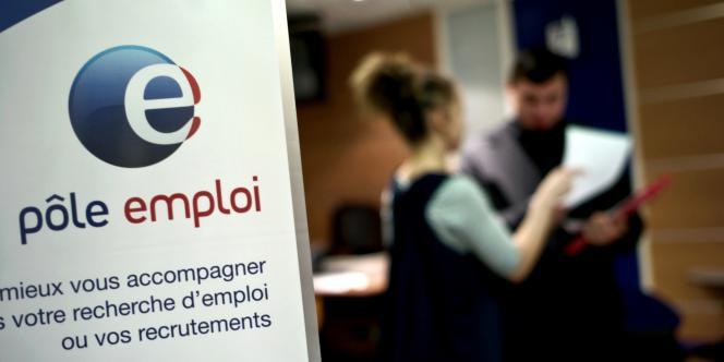 Photo prise le 29 février 2009, dans une agence Pôle emploi de Dijon.