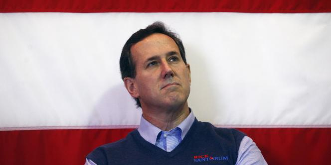 Rick Santorum, le 17 janvier 2012 à Mount Pleasant, en Caroline du Sud.