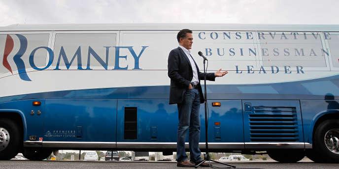 Mitt Romney à Florence, en Caroline du Sud, le 17 janvier.