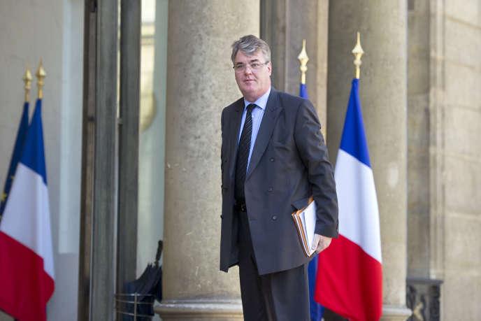 Le président du Conseil économique, social et environnemental, Jean-Paul Delevoye, à l'Elysée à Paris, le 21 mars 2011.