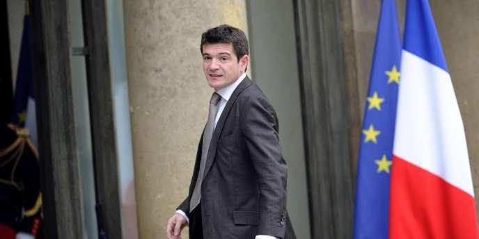 Benoist Apparu, le secrétaire d'Etat au logement, le 17 novembre 2010 à Paris.