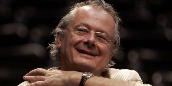 Le metteur en scène allemand Frank Castorf à Vienne en juin 2007.