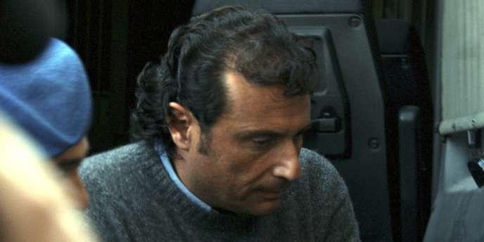 Francesco Schettino, à Grosseto, le 17 janvier 2012.