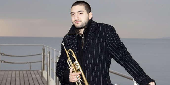 Le trompettiste Ibrahim Maalouf à Cannes, en janvier 2008.