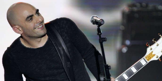 Le chanteur Da Silva en concert à Paris en mars 2007.