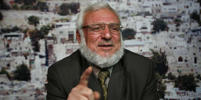 Le président du Parlement palestinien, Aziz Dweik, membre du Hamas, le 18 mars 2010.