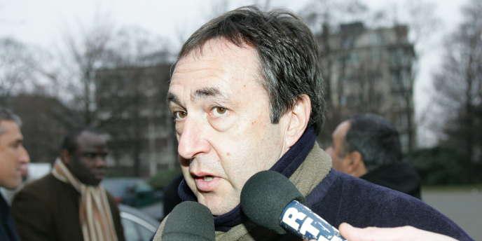 Jean-Pierre Bernès, le 13 décembre 2004, à Bruxelles.