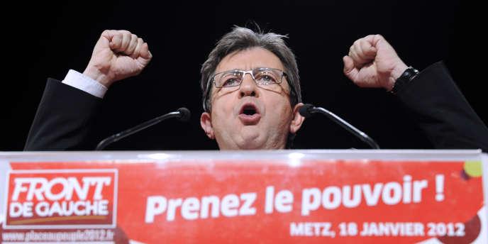 La stratégie de Jean-Luc Mélenchon est de faire de sa campagne