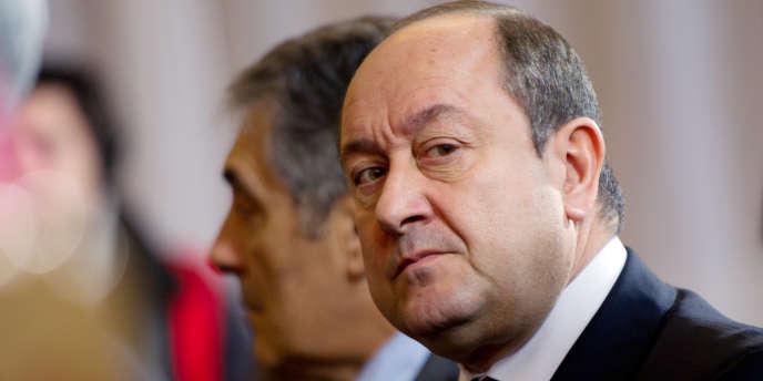 L'ancien directeur central du renseignement intérieur Bernard Squarcini, le 17 janvier 2012.