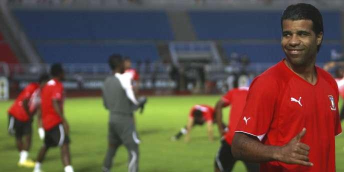 Rodolfo Bodipo, capitaine de la sélection de Guinée Equatoriale.