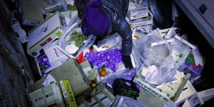 En UE, la production de déchets alimentaires atteint