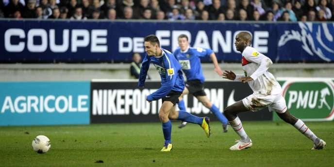 En 16e de finale de la Coupe de France, le PSG a largement dominé  4-0  les amateurs de Sablé-sur-Sarthe, club de CFA2.