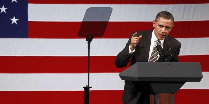 Barack Obama rétorque le projet d'oléoduc Keystone XL qui devait traverser une zone écologiquement fragile du Nebraska.
