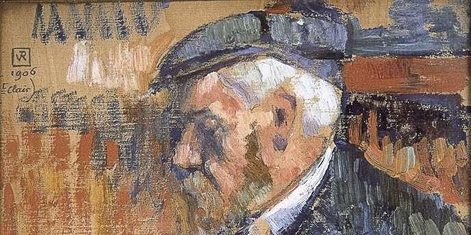 Theo Van Rysselberghe, Portrait d Edmond Henri Cross, 1906 .jpg